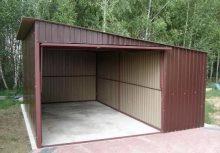 Типовой металлический гараж стеллажи для гаража купить в самаре